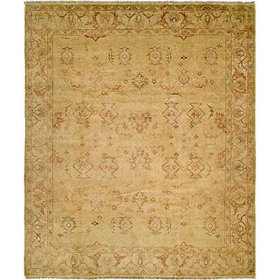 Harounian Rugs International Oushak 8 x 10 Gold/Ivory B2B