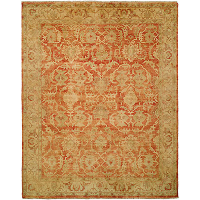 Harounian Rugs International Oushak 6 x 9 Rust/Gold B260