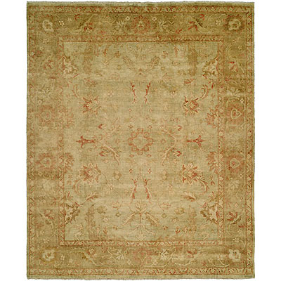 Harounian Rugs International Oushak 6 x 9 Sage/Beige B7A