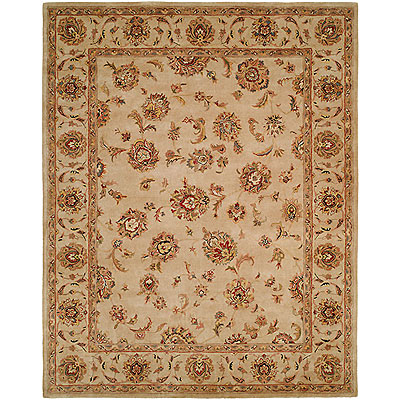 Harounian Rugs International Palace 9 x 12 Ivory/Ivory 1739