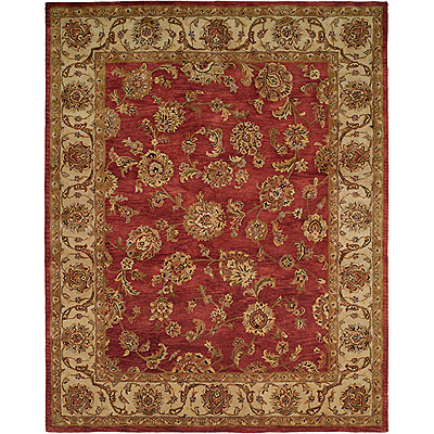 Harounian Rugs International Palace 9 x 12 Red/Ivory 173