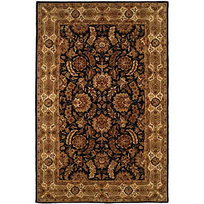 Harounian Rugs International Park Avenue 4 x 6 Black/Ivory LT11
