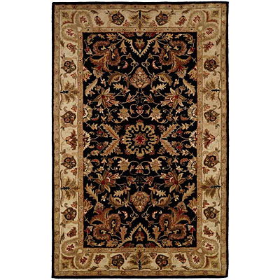 Harounian Rugs International Park Avenue 4 x 6 Black/Ivory LT15