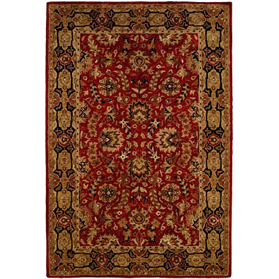 Harounian Rugs International Park Avenue 4 x 6 Red/Black LT11