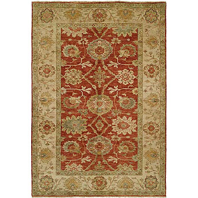 Harounian Rugs International Peshawar 8 x 10 Rust/Ivory P4