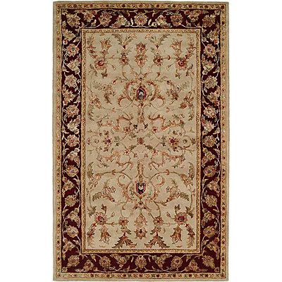 Harounian Rugs International Romance 4 x 6 Beige/Red KC314