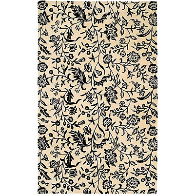 Harounian Rugs International South Beach 5 x 8 Black/White 7746A