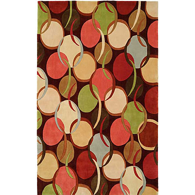 Harounian Rugs International South Beach 8 x 11 Brown 7741B