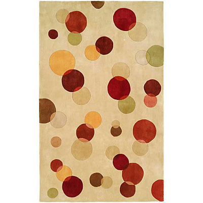 Harounian Rugs International South Beach 5 x 8 Ivory 50013B