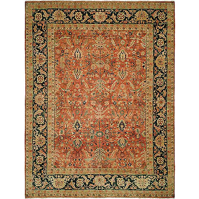Harounian Rugs International Supreme 6 x 9 Red/Blue JR2