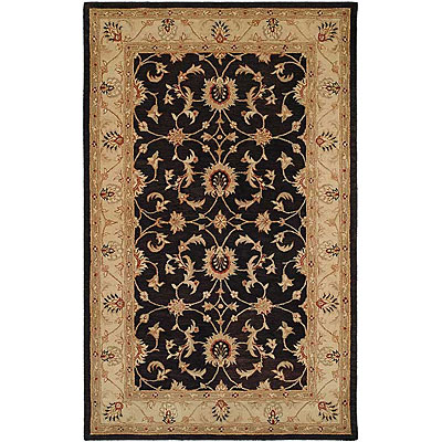 Harounian Rugs International Winchester 8 x 11 Black/Beige TH204