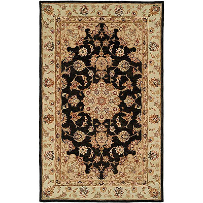 Harounian Rugs International Winchester 4 x 6 Black/Camel TM1502A