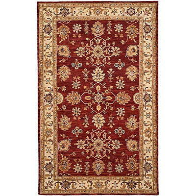 Harounian Rugs International Winchester 4 x 6 Burgundy/Beige TH31