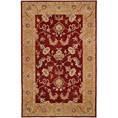 Harounian Rugs International Winchester 4 x 6 Red/Gold TH25