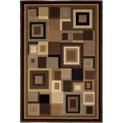 Home Dynamix Catalina 8 x 10 Black/Brown 4467 4467-469