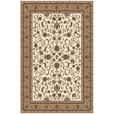 Home Dynamix Crown Jewel 8 x 10 Ivory 7762