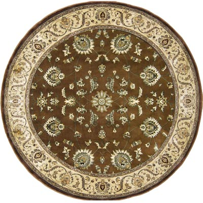 Home Dynamix Eclipse 5 ft Round (Dropped) Brown IB024 IB024-500