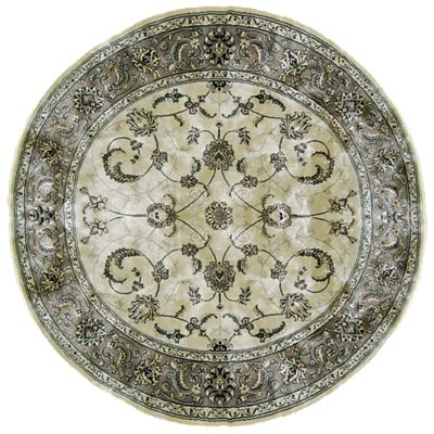 Home Dynamix Eclipse 5 ft Round (Dropped) Silver IM411B IM411B-453