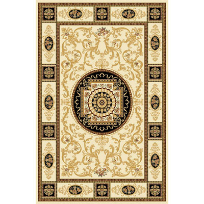 Home Dynamix Empress 4 x 5 Cream 5075 5075-102