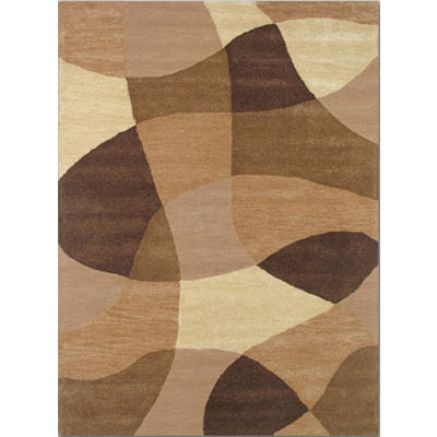 Home Dynamix Escapades 5 x 7 Earth Herringbone 304-181