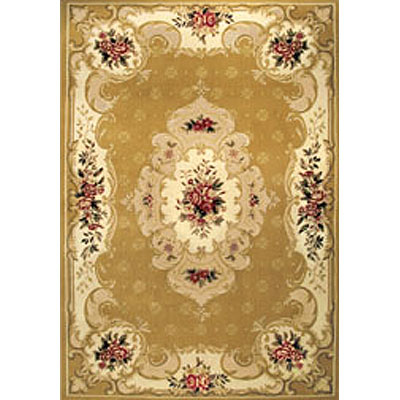 Home Dynamix Heirloom 3 ft Round Gold Beige 2784-157