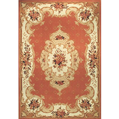 Home Dynamix Heirloom 8 x 11 Oval Salmon 2784-255