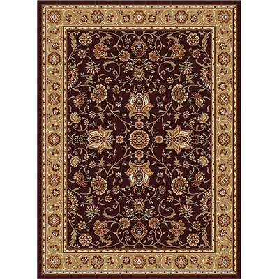 Home Dynamix Madlena 5 ft Round Brown Gold 3207-512