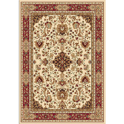 Home Dynamix Madlena 8 x 10 Ivory Red 3209-110