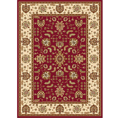 Home Dynamix Madlena 8 x 10 Red Ivory 3206-215