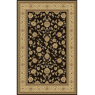 Home Dynamix Monarchy 5 x 8 Brown Ivory 7717-511