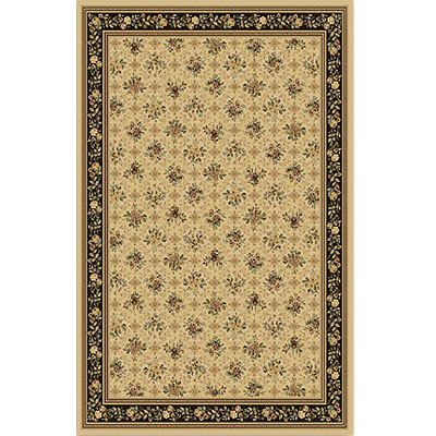 Home Dynamix Monarchy 8 ft Round Ivory Brown 7712-122