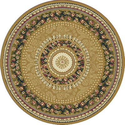 Home Dynamix Optimum 8 ft Round Gold 11023 11023-151