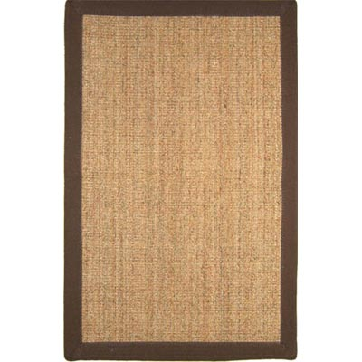 Home Dynamix Pebble Beach 5 x 7 Brown PB500