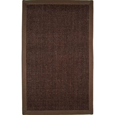 Home Dynamix Pebble Beach 5 x 7 Dark Brown PB24D-514