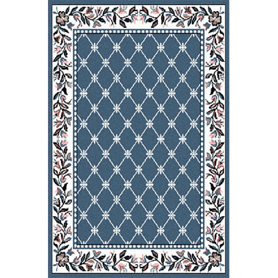 Home Dynamix Premium 5 x 7 Country Blue 7015 7015