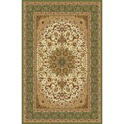 Home Dynamix Regency 2 x 4 Ivory/Green Border 8301 8301-108