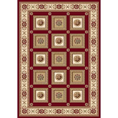 Home Dynamix Regency 5 x 8 Red 8339 8339-200