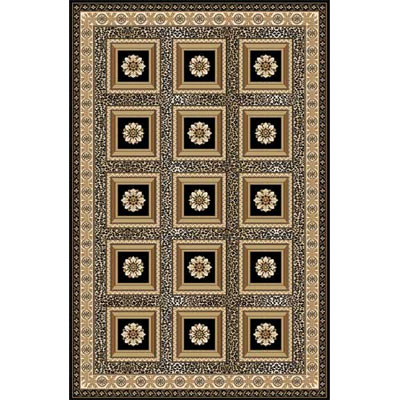 Home Dynamix Regency 2 x 4 Black 8524 8524-450