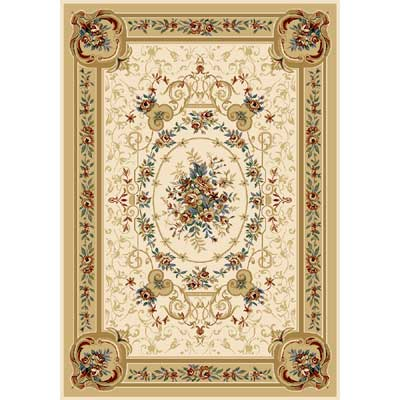 Home Dynamix Royalty 5 x 7 Ivory 8078