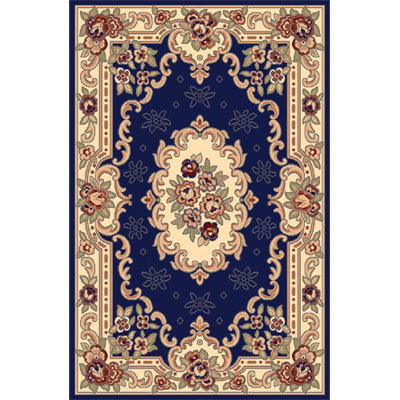 Home Dynamix Sing 5 x 7 Navy Blue 792 792-300