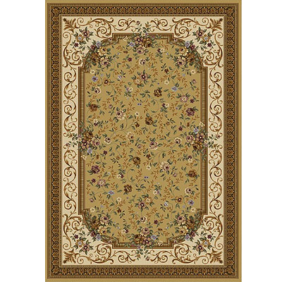 Home Dynamix Victoriana 5 x 8 Gold 5266-151