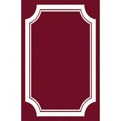 Home Dynamix Zone 8 x 11 Burgundy 7162 7162-450