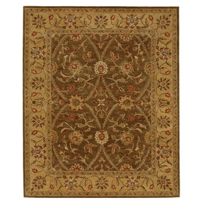 Jaipur Rugs Inc. Ananda 8 x 11 Chandra Brown/Medium Gold AN03