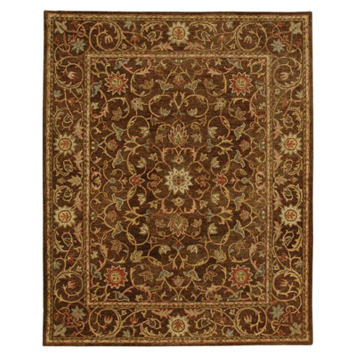Jaipur Rugs Inc. Ananda 8 x 11 Prana Cocoa Brown/Cocoa Brown AN05