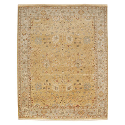 Jaipur Rugs Inc. Ankar 9 x 12 Alan Bright Gold/Silver AK01