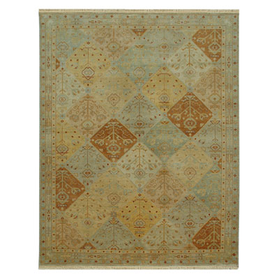 Jaipur Rugs Inc. Ankar 10 x 14 Bahar Light Gold/Light Gold AK04