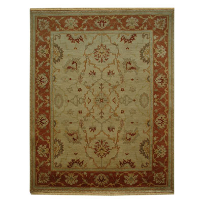 Jaipur Rugs Inc. Ankar 9 x 12 Baris Soft Gold/Red Orange AK06