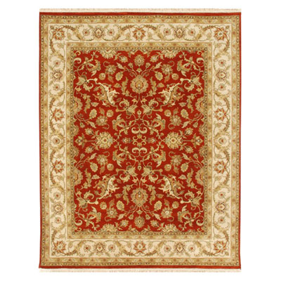 Jaipur Rugs Inc. Atlantis 6 x 9 Padma Red Oxide/Soft Gold