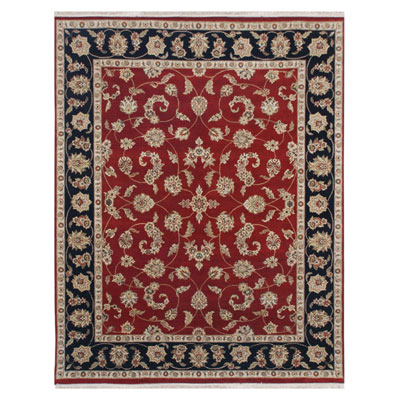 Jaipur Rugs Inc. Atlantis 8 x 10 Bhommi Red/Ebony AL17