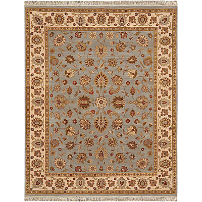 Jaipur Rugs Inc. Atlantis 8 x 10 Brahma Ice Blue Dark Ivory BT33979180